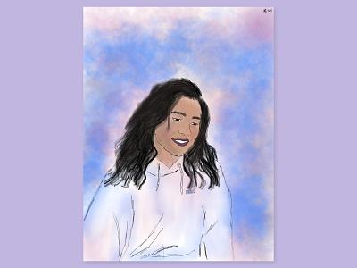 Brisk Air apple pencil ipad digital art drawing painting procreate