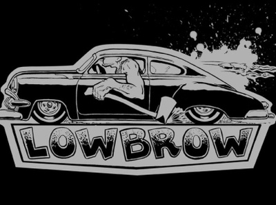 Lowbrow Tshirt Design illustration brush and ink hot rod kustom