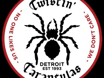 Twistin' Tarantulas Patch psychobilly patch twistin tarantulas
