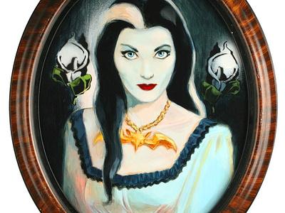Lillian munsters lillian munster painting acrylic