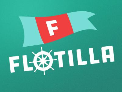 Flotilla fleet nautical logo flotilla