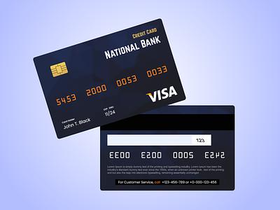 Credit Card Design sign in websites logo illustration design website design signup business card design adobe xd ux
