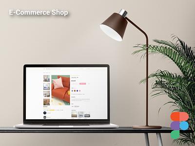 E-Commerce Shop_Design figma logo illustration design websites website design signup sign in business card design adobe xd ux