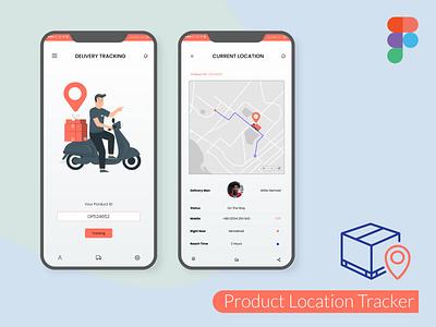 Location Tracker Design figma logo illustration design websites website design signup sign in business card design adobe xd ux