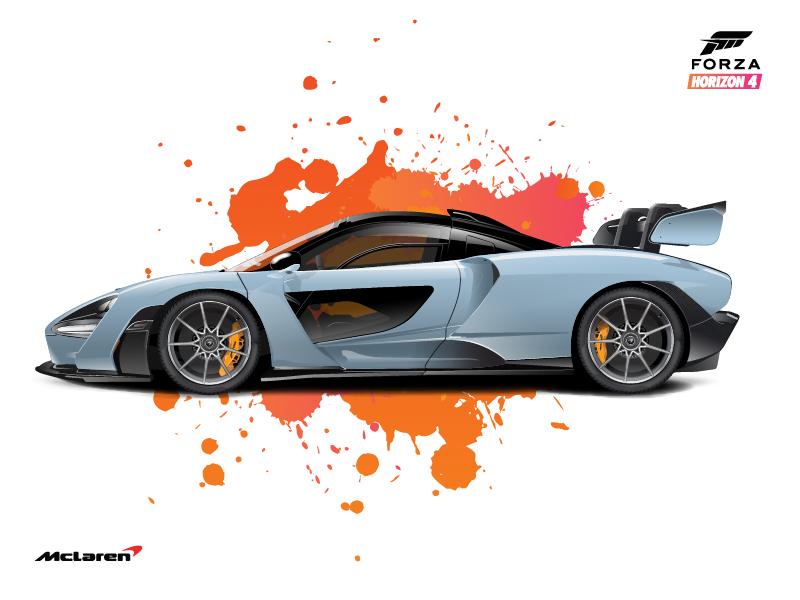 forza horizon 4 hero car illustrationscott bowman | dribbble