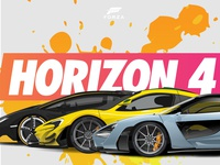 Horizon 4 Car Illustration