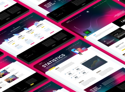 Isometric web pages