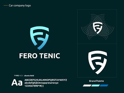 Fero Tenic logo simple identity logotype vector ft letter logo modern mark logo mark brand identity logo design creative abstract logo app icon illustration abstract
