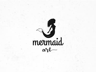 mermaid art vectorart professional logomark creative logo illustration brandind identity type letters design simple logo logotype branding