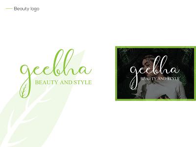 geebha identity font type brandind letters design branding logotype simple icon logos logo