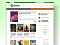 Landing page Gamasutra