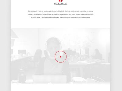 Landing Page  design sf sanfrancisco white dev ux ui landingpage