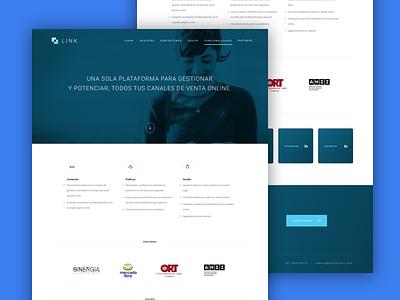 Landing Page ui elements style interface ux ui
