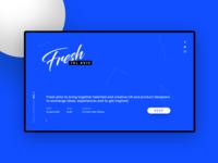 Fresh Meetup Website