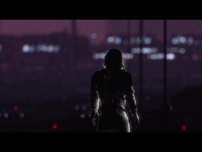 Scifi Scene - Style Frame
