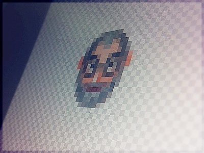 Steve Jobs in 16px [WIP] steve jobs 16px avatar iconmoon
