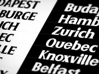 Serif Typeface Experiment
