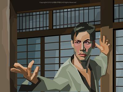 Movie《the matrix》 vector ui design illustration movie illustration movie