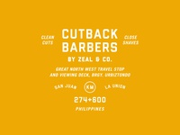 Cutback Barbers by Zeal and Co.