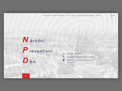 NPD developement js css html website web ui ux design ux conference morava brno