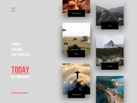 #01 - Travel Project - Homepage