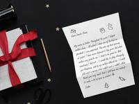 9 December - Letter for Santa Claus