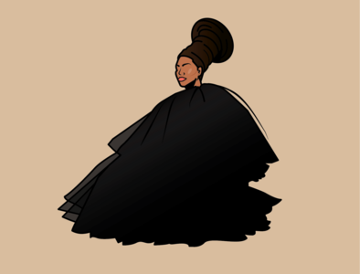 NeferBEYti blm digital illustraion illustration beyonce