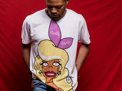 Malibu Hurts Tee t-shirt design designer t-shirt tee t-shirt beyonce pretty hurts the simpsons malibu hurts pint up