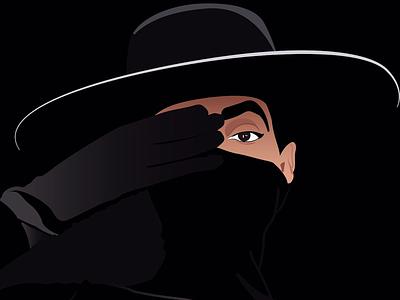 Becoming Solange knowles digital illustration illustration vector solange