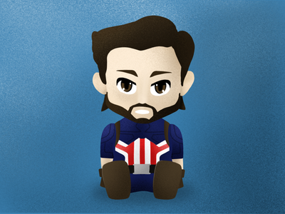 No show at Valentine's Day! valentines day creative illustration avengers marvel captain america