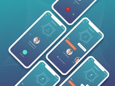 Magic Mirror App Concept iot mirroros iphone app ui ux