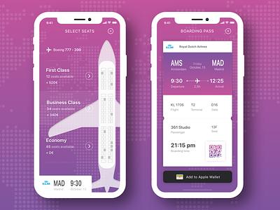 Plane Booking App Concept tracer design flights flight booking flight app plane ticket plane travel iphone app ui ux
