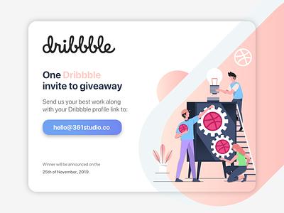 Dribbble Invite Giveaway invitation app web sketch hello dribbble user experience user interface design ui ux invite giveaway invite dribbble invite debut shot debut