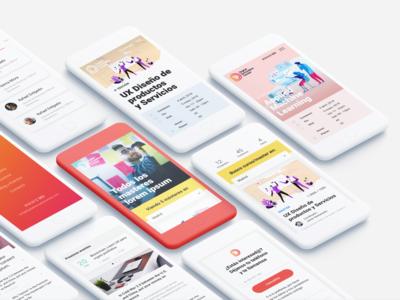 Digital Innovation Center - Responsive Website