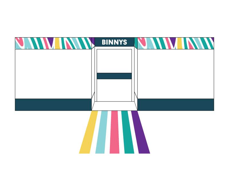 Binnys Shopfront