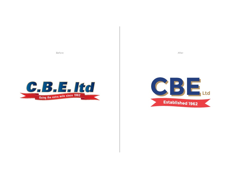 CBE Logo Update / Simplification