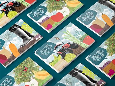 Freshening up illustration fresh food collage gilliam