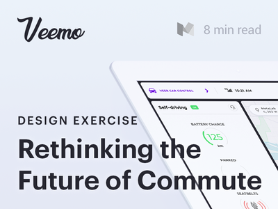 Rethinking the Future of Commute design escercise exploration commute tesla platforms case study article