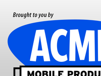 ACME Mobile Products