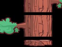 Dam It Beaver Tree Pattern