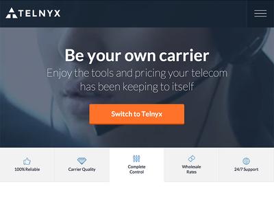 Telnyx Telephony Services Redesign