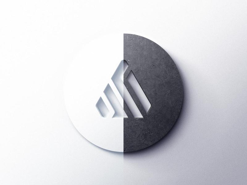Realistic 3D Logo Mockups