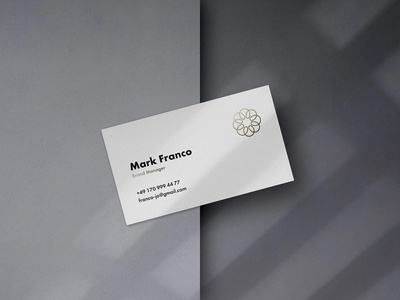 Mote Free Business Card Mockup