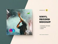 Free Vinyl Record Mockup record vynil cover music template mockup art blog thedesignest photoshop psd download freebie free
