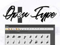 New tutorial: Open type features in Photoshop & Illustrator