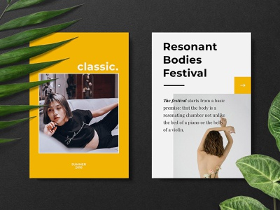 Free download: The Reviewer Pinterest Templates stories instagram pinterest template media social psd download design freebie free blog thedesignest