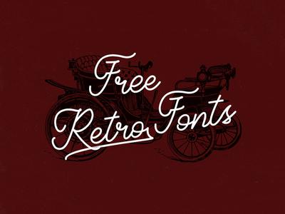 40 free retro fonts for your nostalgic mood