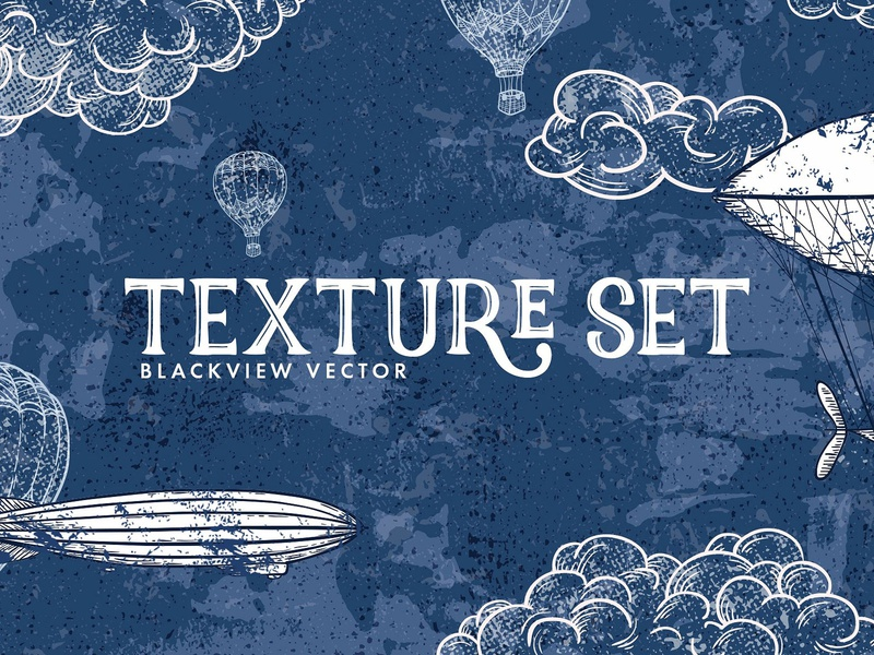 Blackview: Free Vector Grunge Textures worn vintage retro texturing grunge halftone texture vector download freebie free blog thedesignest