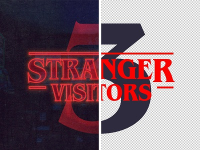 Stranger Things Free Font Effect smart object photoshop action stranger things tv show tv netflix psd design effect text poster art photoshop download psd blog post blog the designest download freebie free