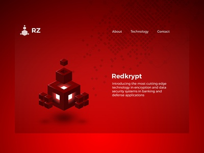 An Imaginary Red Theme - Redkrypt red tech